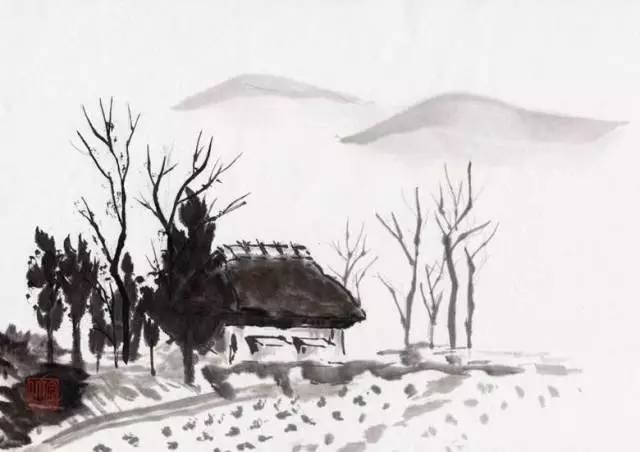 《渭川田家》—王维